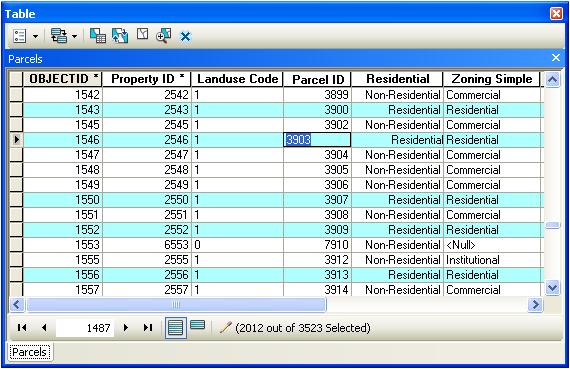 Bearbeiten von Werten in einer Tabelle—Hilfe | ArcGIS for Desktop