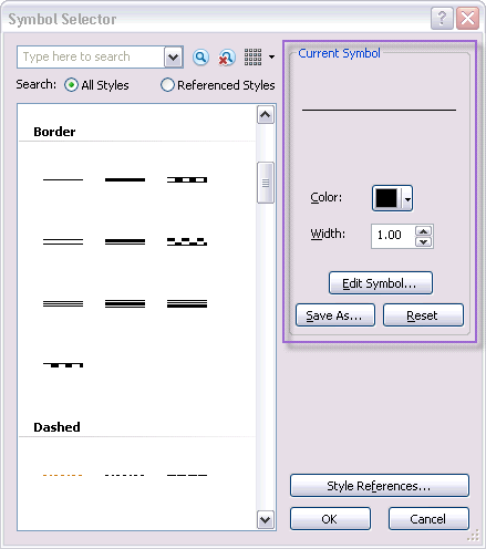 Kurzer Überblick über Symbole und Styles—Hilfe | ArcGIS for Desktop
