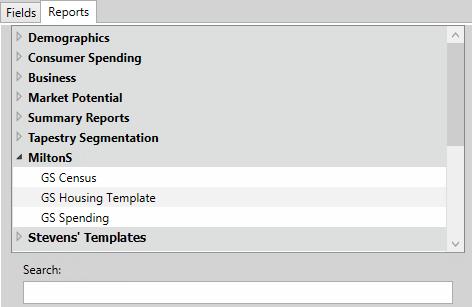 building a report help arcgis desktop