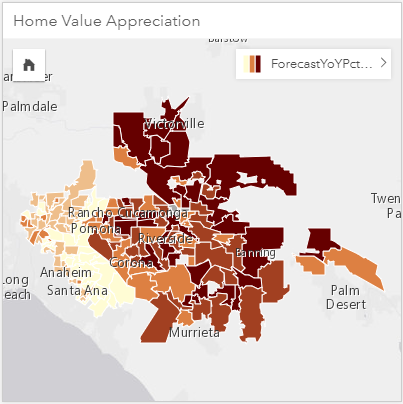Finding a new home using Insights for ArcGIS—Analytics