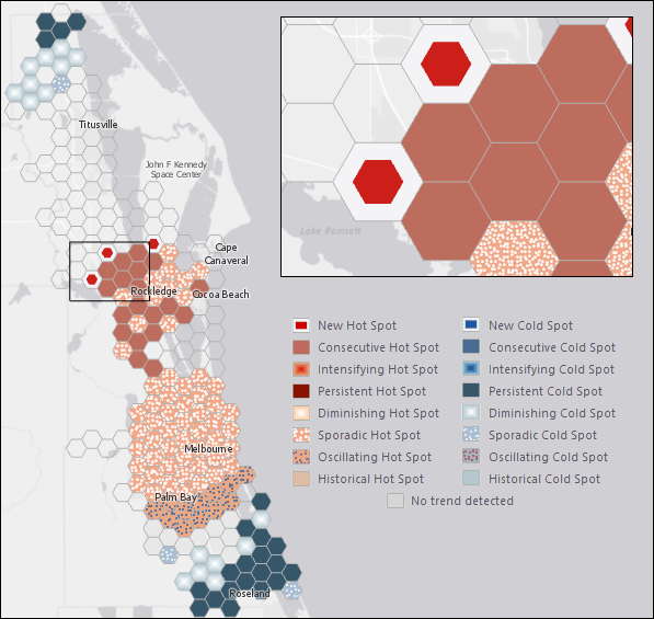 Analyzing traffic accidents in space and time—Analytics | ArcGIS Desktop
