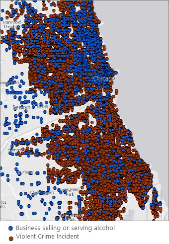 Analyzing violent crime—Analytics   ArcGIS Desktop