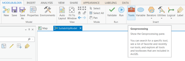 Suitability modeling workflow using ArcGIS Pro—Lesson 4
