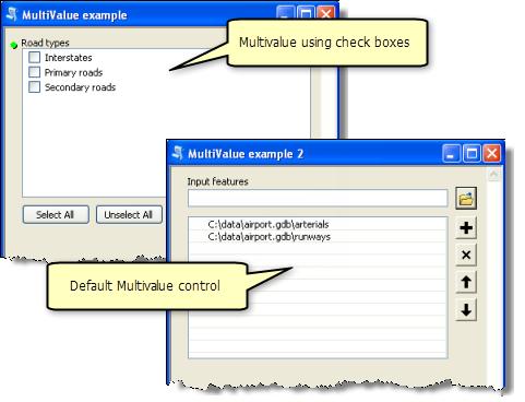 Setting script tool parameters—Help | ArcGIS for Desktop