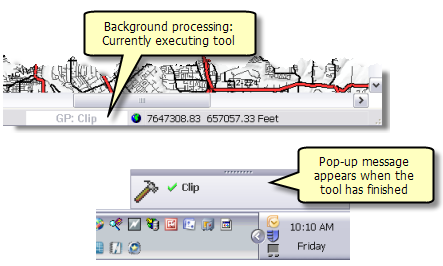 Foreground and background processing—Help | ArcGIS for Desktop