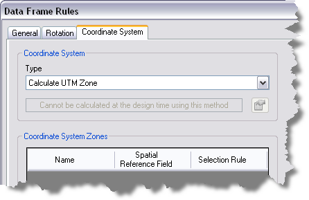 Setting a coordinate system for data frame rules—Help | ArcGIS Desktop