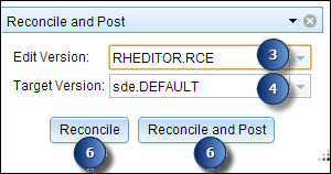 reconciling and posting event data help arcgis desktop