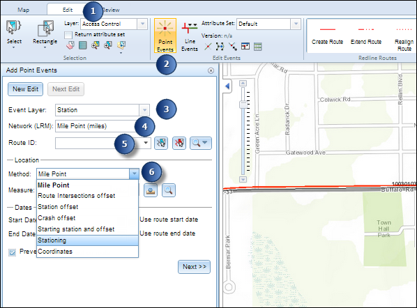 Adding point events by station measures—Help | ArcGIS Desktop