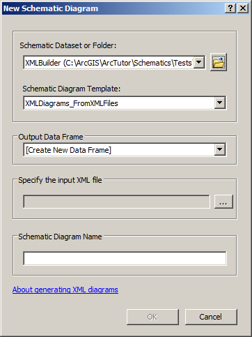 Generating a diagram based on the xml builderhelp arcgis for desktop new schematic diagram xml builder dialog ccuart Gallery