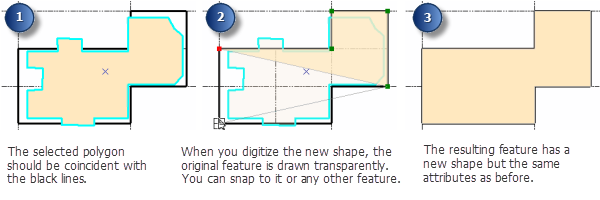 Replacing a feature's geometry with an entirely new shape—Help