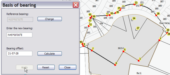 Splitting parcels using construction lines—Help | ArcGIS for