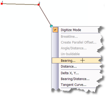 Bearing distance and delta xyhelp arcgis for desktop cogo tools on the construction tool context menu ccuart Image collections
