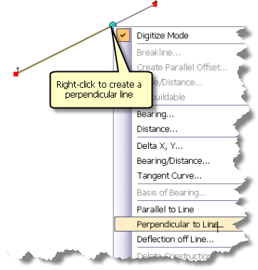 parallel perpendicular and deflection help arcgis for desktop