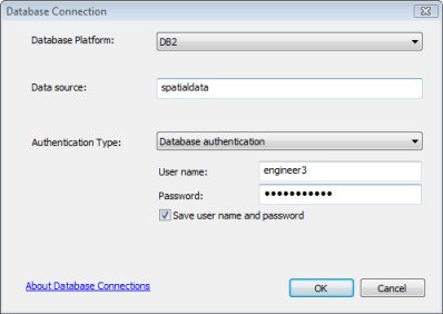 Connect to DB2 from ArcGIS—Help | ArcGIS Desktop