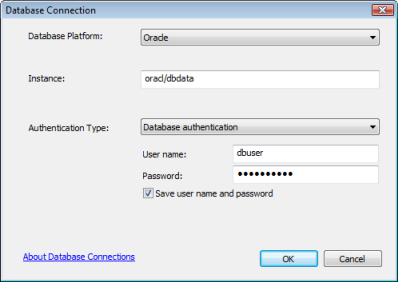 Connect to Oracle from ArcGIS—Help | ArcGIS Desktop