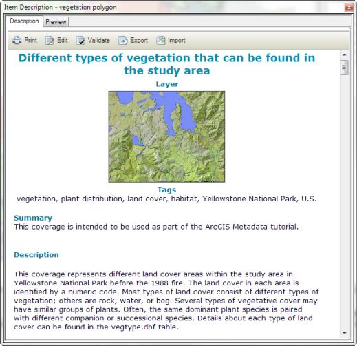 What is metadata?—Help | ArcGIS for Desktop