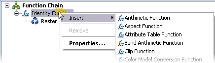 Editing function chain templates—Help | ArcGIS for Desktop