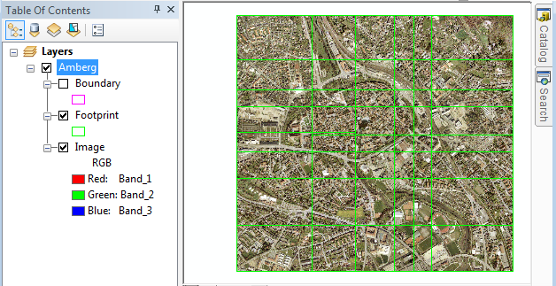 Exercise 1: Creating a mosaic dataset—Help | ArcGIS for Desktop