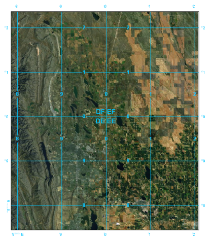 What are grids and graticules?—Help | ArcGIS for Desktop