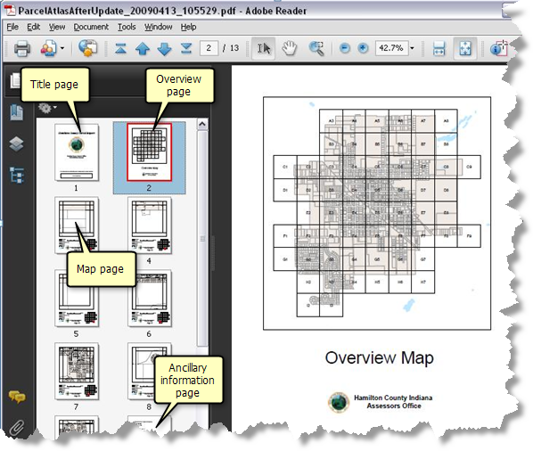 Web Page Site Map Example: Exporting Data Driven Pages—Help