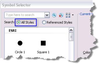 Finding symbols—Help | ArcGIS for Desktop