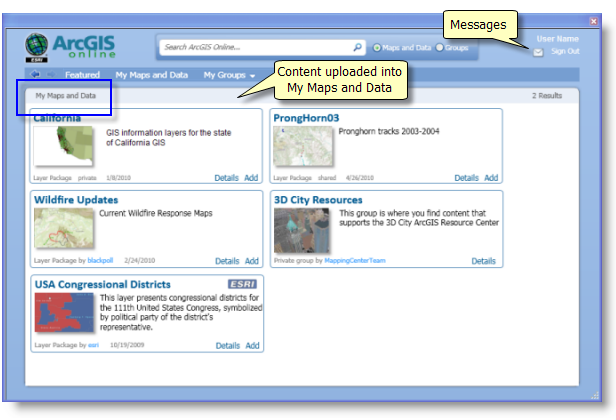 Using ArcGIS Online In ArcGIS For Desktop ApplicationsHelp - Map layers for us arcgis