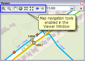 Working with magnifier, viewer, and overview windows—Help | ArcGIS