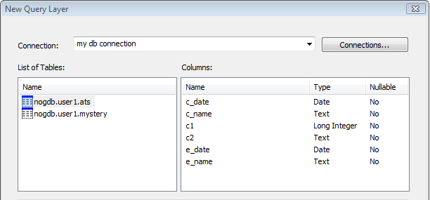 Creating a query layer—Help | ArcGIS for Desktop
