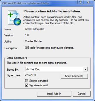 Testing an add-in—Help | ArcGIS Desktop