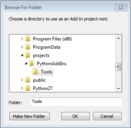 Creating an add-in project—Help | ArcGIS Desktop