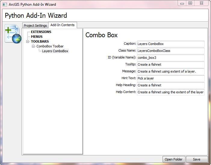 creating a python add in combo box help arcgis desktop rh desktop arcgis com