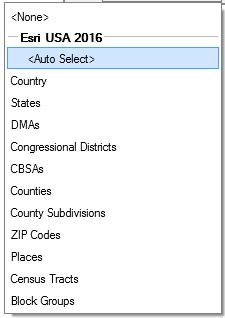 Color-Coded maps—Help | ArcGIS Desktop