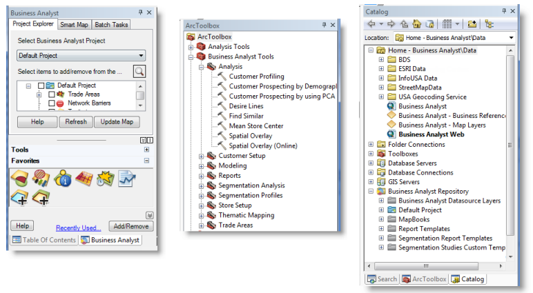 A quick tour of business analyst desktophelp arcgis desktop business analyst windows wajeb