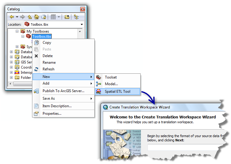 A quick tour of the ArcGIS Data Interoperability extension