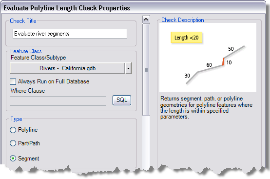 evaluating segment part path and polyline lengths help arcgis
