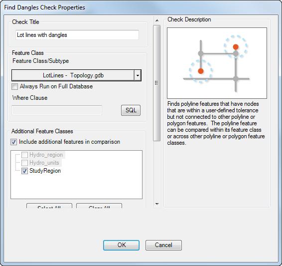 Finding dangles on line features—Help | ArcGIS Desktop