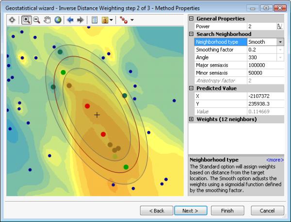 Smooth interpolation—Help   ArcGIS Desktop