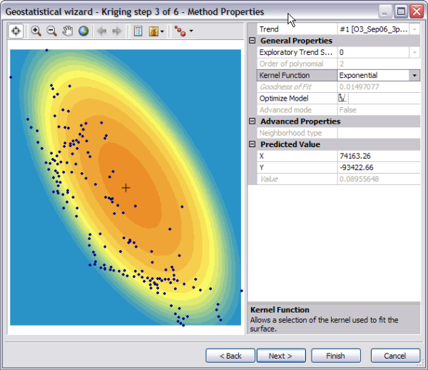 Exercise 3: Mapping ozone concentration—Help   ArcGIS Desktop
