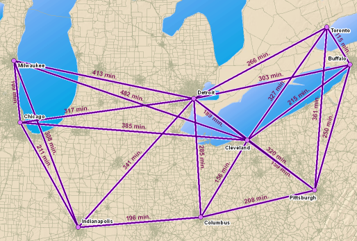 What is the ArcGIS Network Analyst extension?—Help | ArcGIS