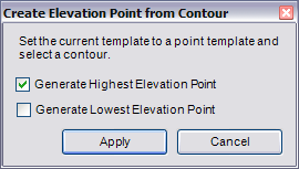 Generating Elevation Points From ContoursHelp ArcGIS Desktop - Elevation point