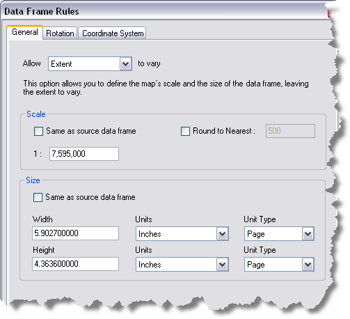 Setting a data frame to allow extent to vary—Help | ArcGIS Desktop