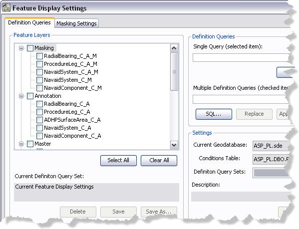 Defining a definition query set\u2014Help | ArcGIS Desktop