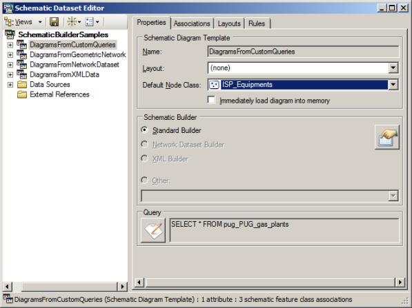 Defining a default node schematic feature class—Help | ArcGIS Desktop