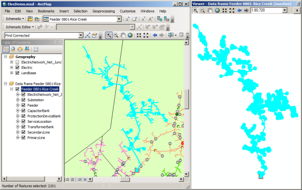 Exercise 1: Getting familiar with Schematics tools—Help | ArcGIS Desktop
