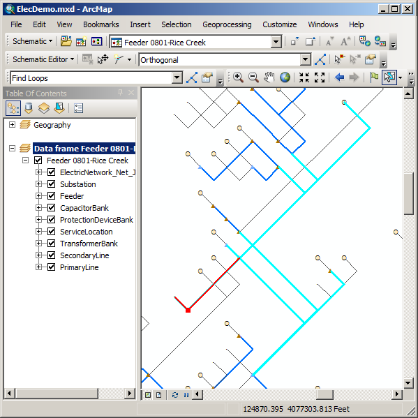 Exercise 3: Editing and layout of schematic diagrams—Help | ArcGIS ...
