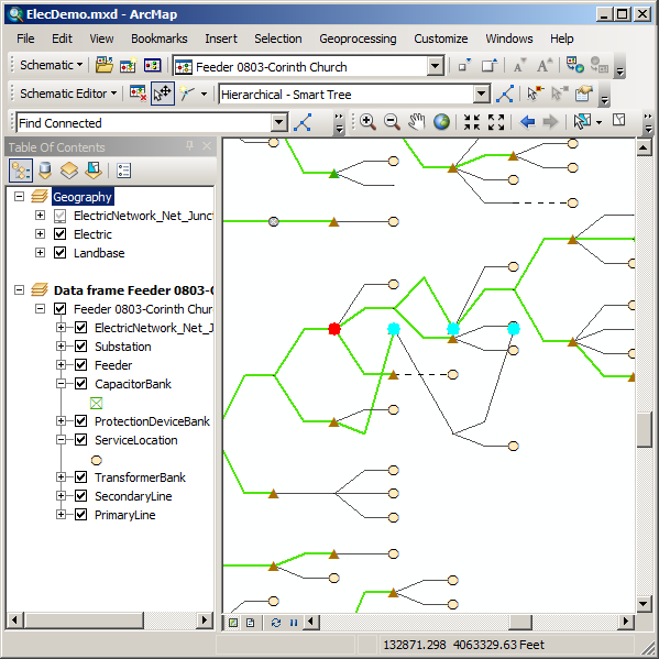 Exercise 3 editing and layout of schematic diagramshelp arcgis align vertical center results ccuart Image collections