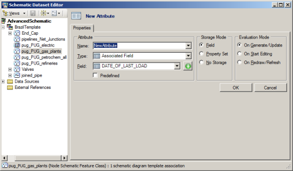 Exercise 4: Configuring schematic attributes—Help | ArcGIS