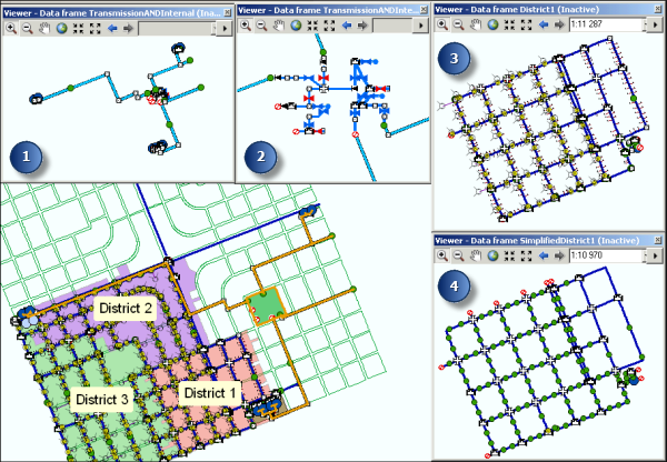 What is Schematics?—Help | ArcGIS Desktop Define Schematics on one-line diagram, function block diagram, schematic editor, diagramming software, cross section, data flow diagram, schematic capture, technical drawing, electronic design automation, circuit diagram, straight-line diagram, piping and instrumentation diagram, tube map, control flow diagram, block diagram, functional flow block diagram, ladder logic,