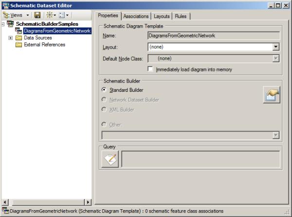 Creating a schematic diagram template—Help | ArcGIS Desktop