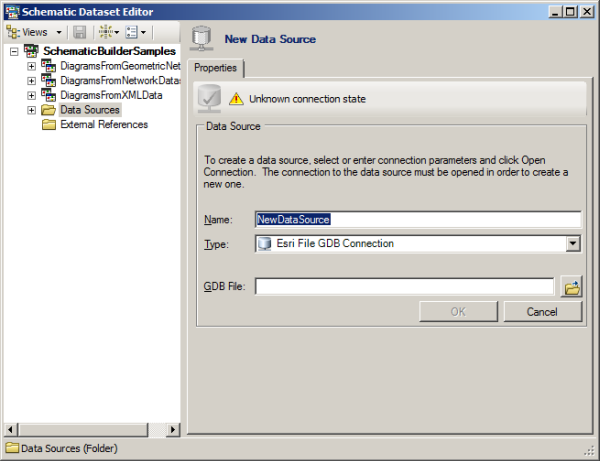 Creating a schematic data source—Help | ArcGIS Desktop